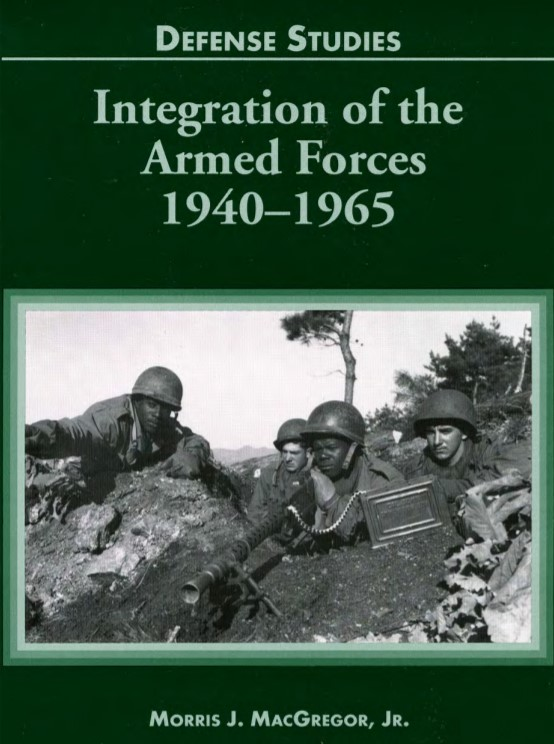 Integration Armed Forces book cover