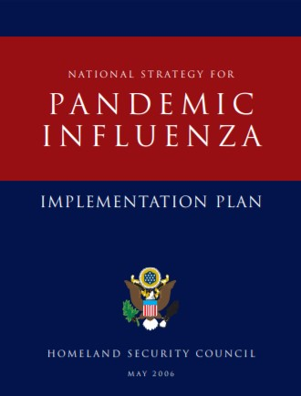 National Strategy for Pandemic Influenza cover doc