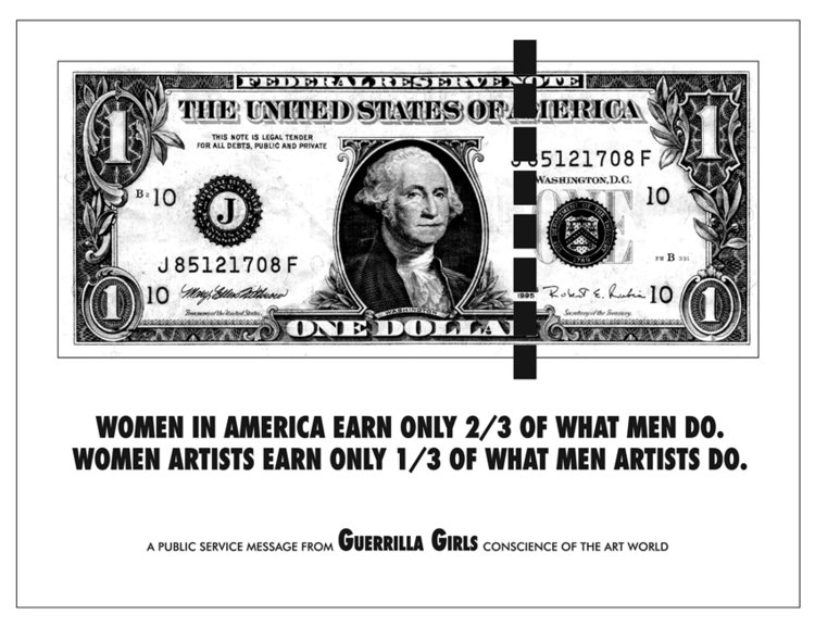 Poster: Women in America Earn Only 2/3 of What Men Do, 1985