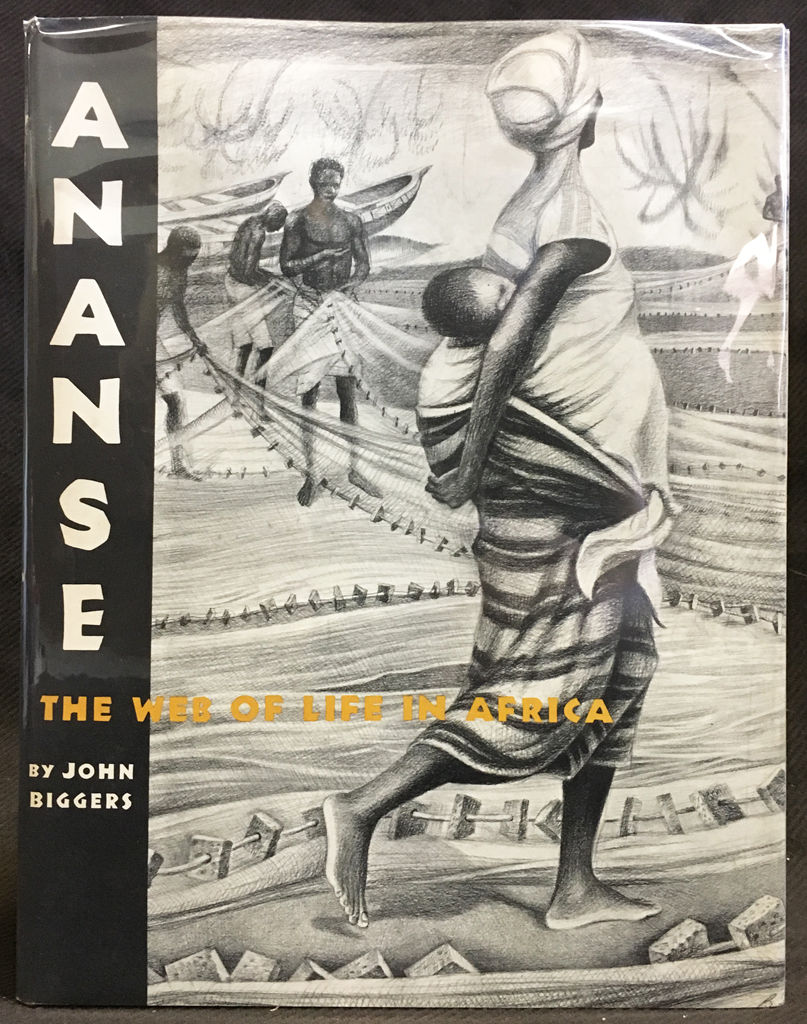 Ananse: the web of life in Africa by John Biggers cover image