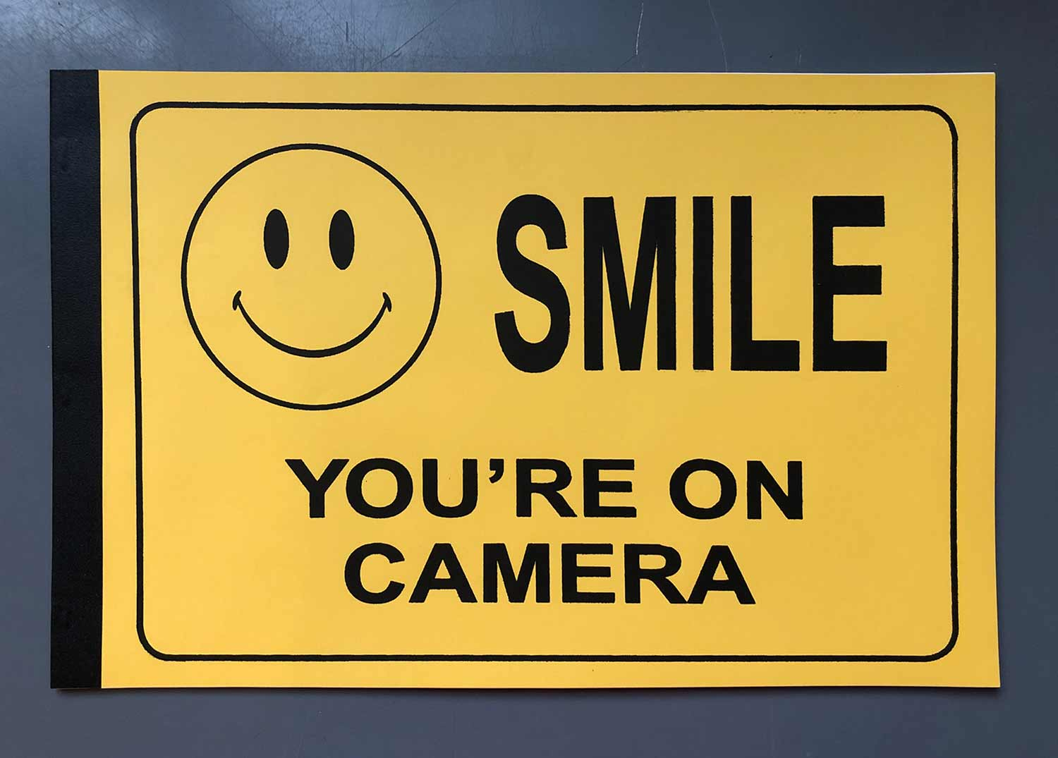Smile, You're on Camera by Josh MacPhee