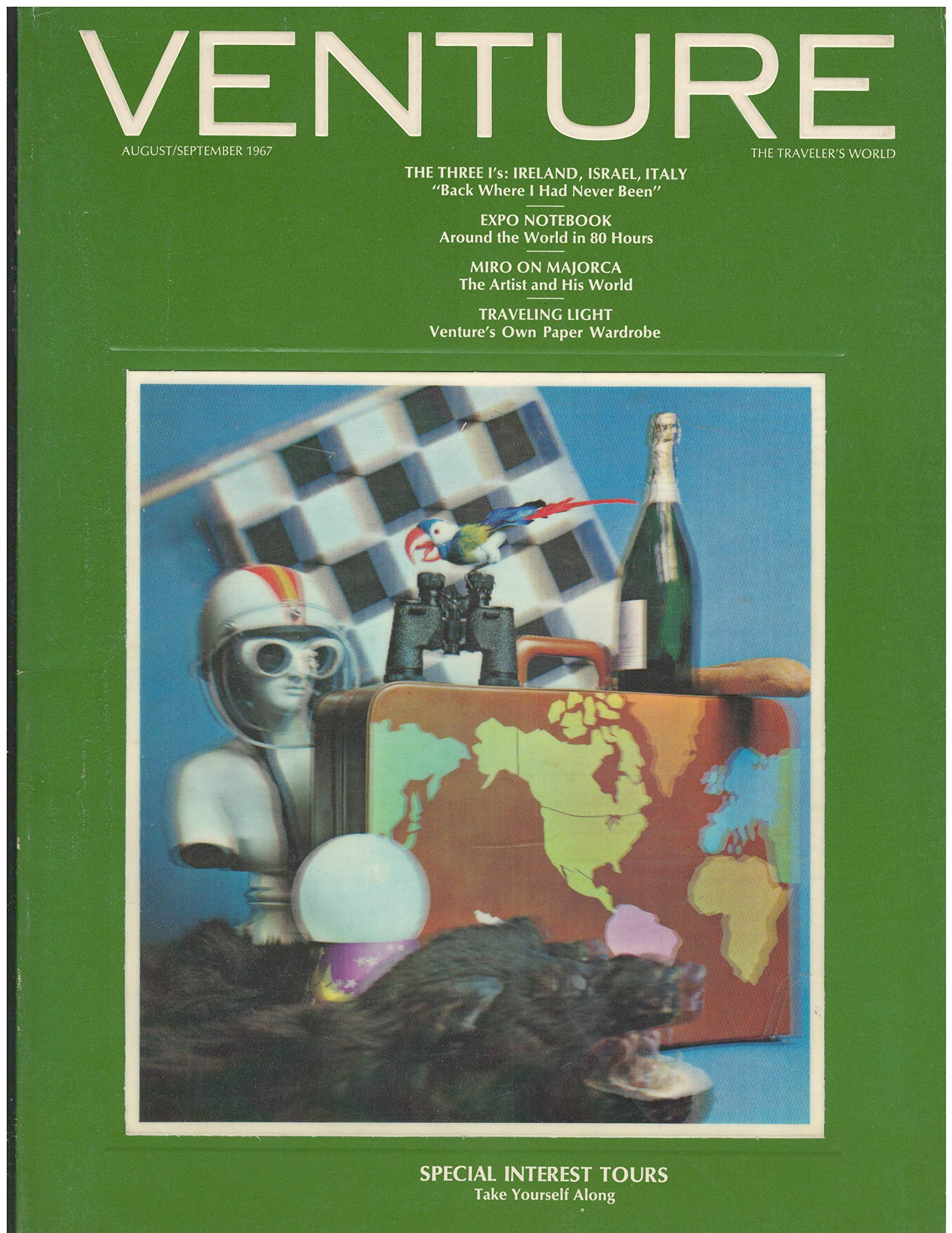 Venture Magazine Aug/Sept 1967 lenticular cover image