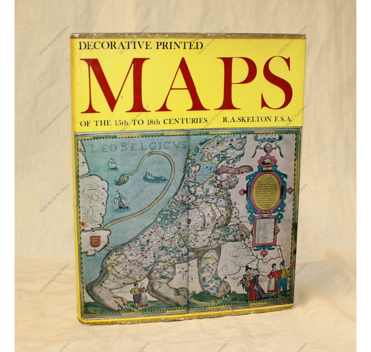 Decorative printed maps of the 15th to 18th centuries: with eighty-four reproductions and a new text by R.A. Skelton.