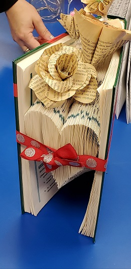 Valentine's Day Event - Book Folding for Adults