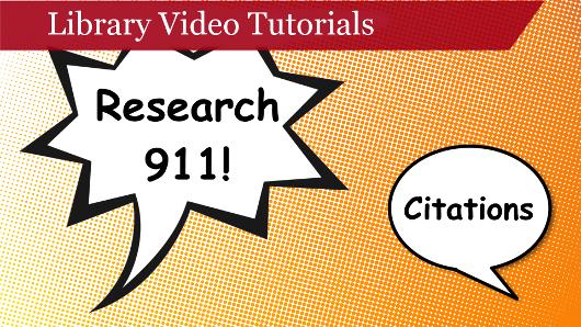 Research 911 Tutorials