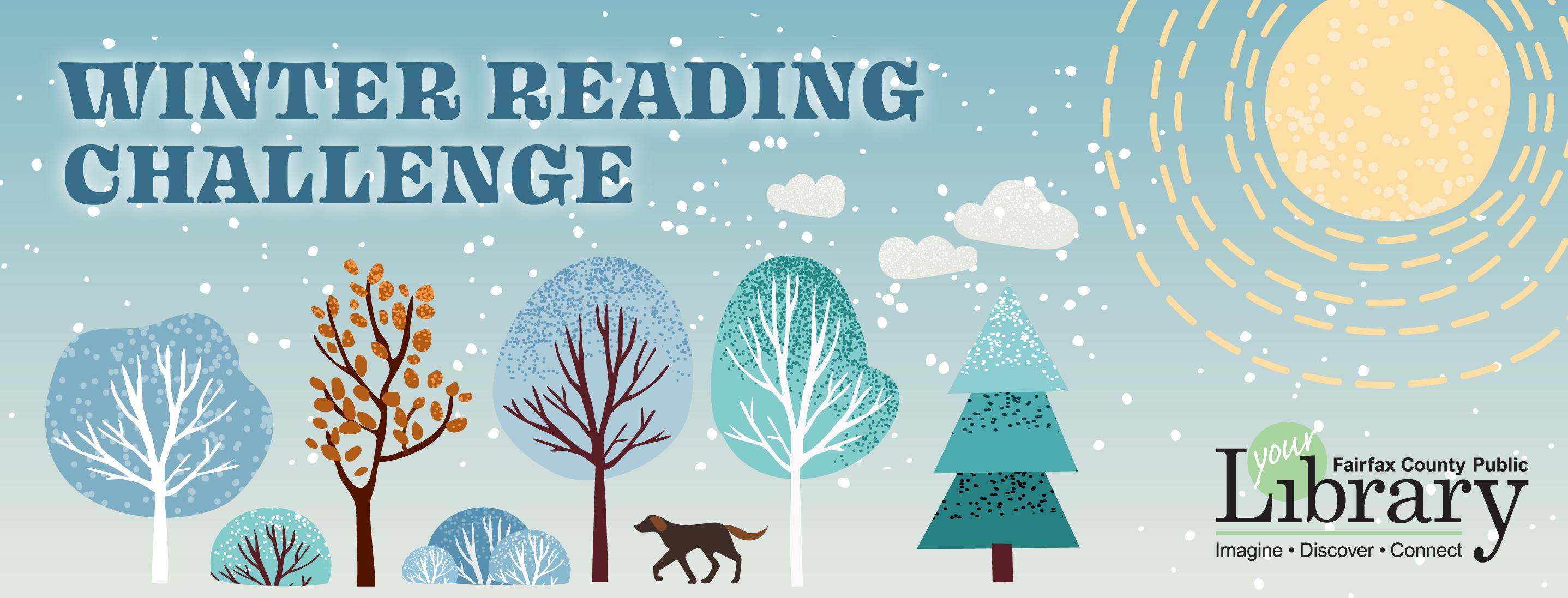 winter reading challenge 2021 banner image
