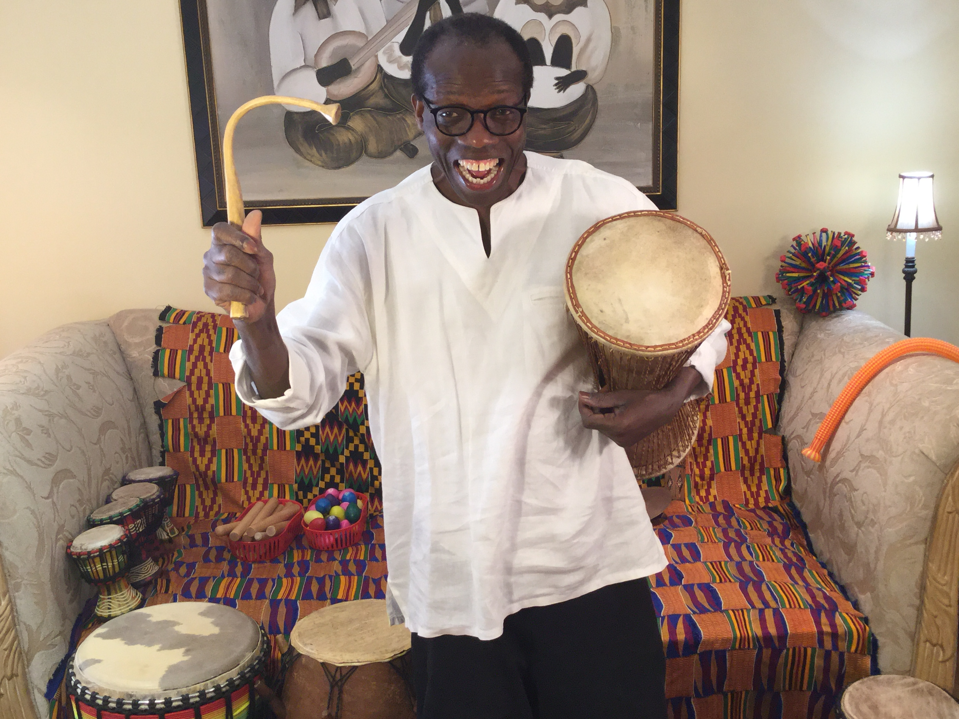 Virtual African Drumming Funfare (Video on Demand)