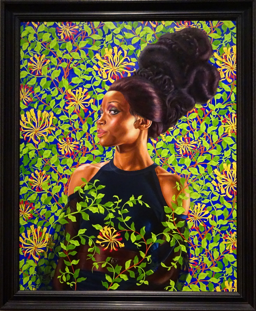 Shantavia Beale ii by Kehinde Wiley