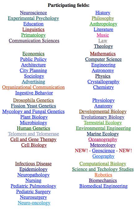 Image of Academic Tree Splash Page