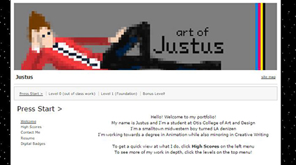 Justus's Welcome Page