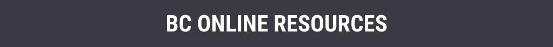 BC Online Resources