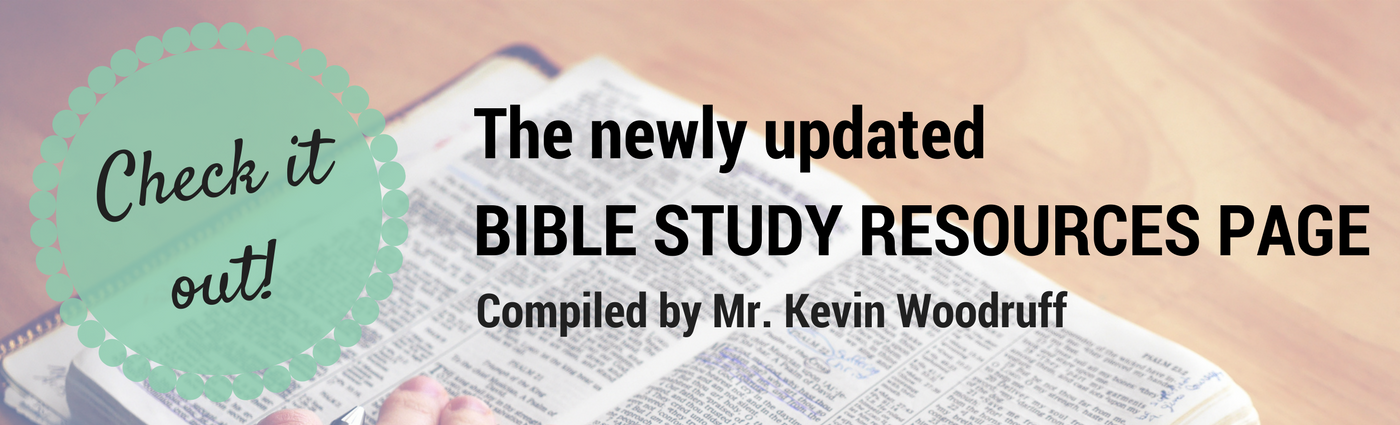 Link to Bible Study Resources Page