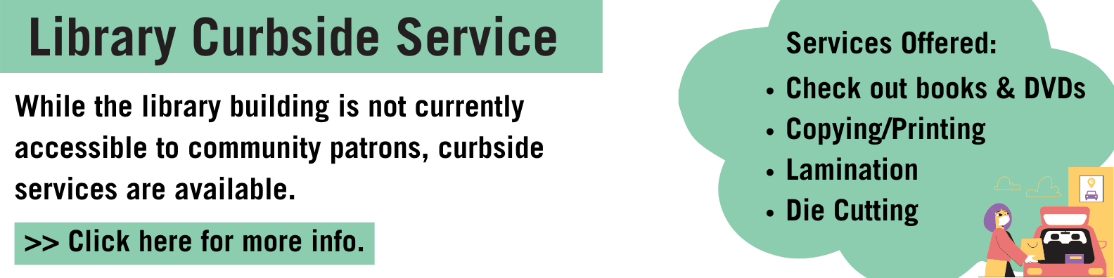 curbside service link