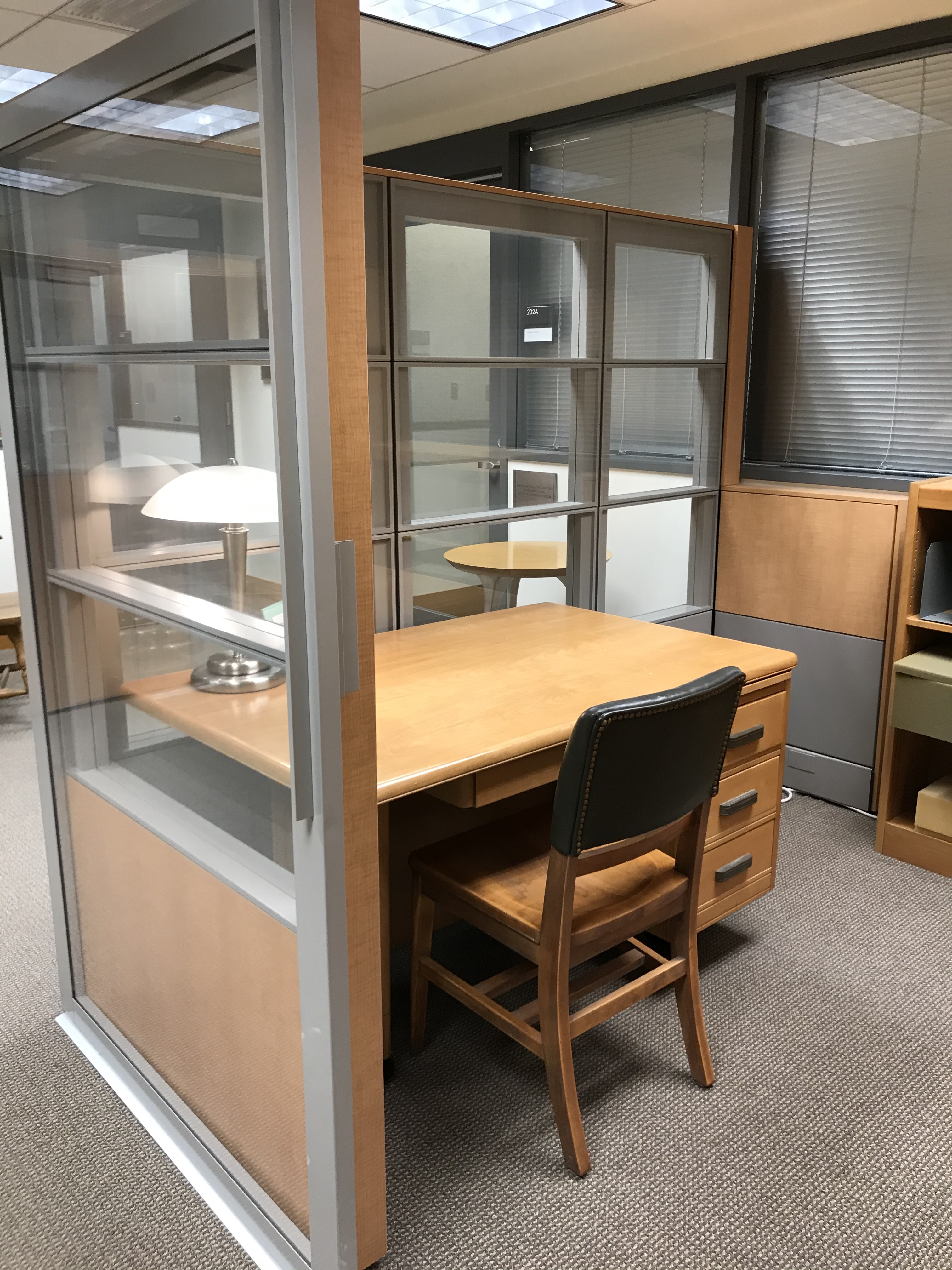 special collections reading room at Mann Library