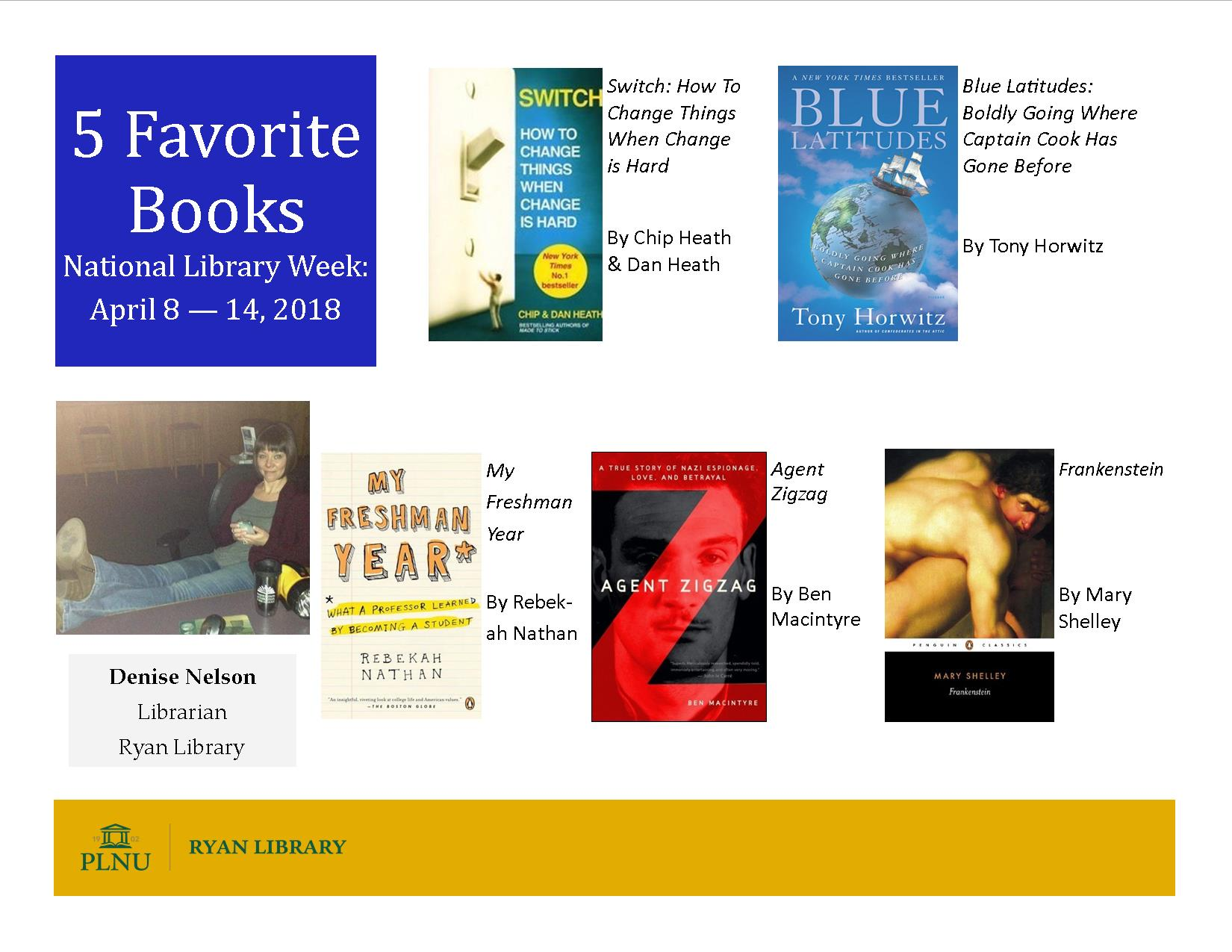 Denise's 2018 Books Poster