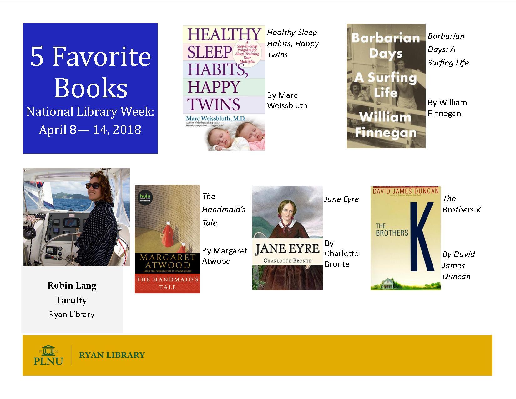 Robin's 2018 Books Poster