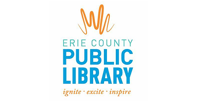 Erie county library logo