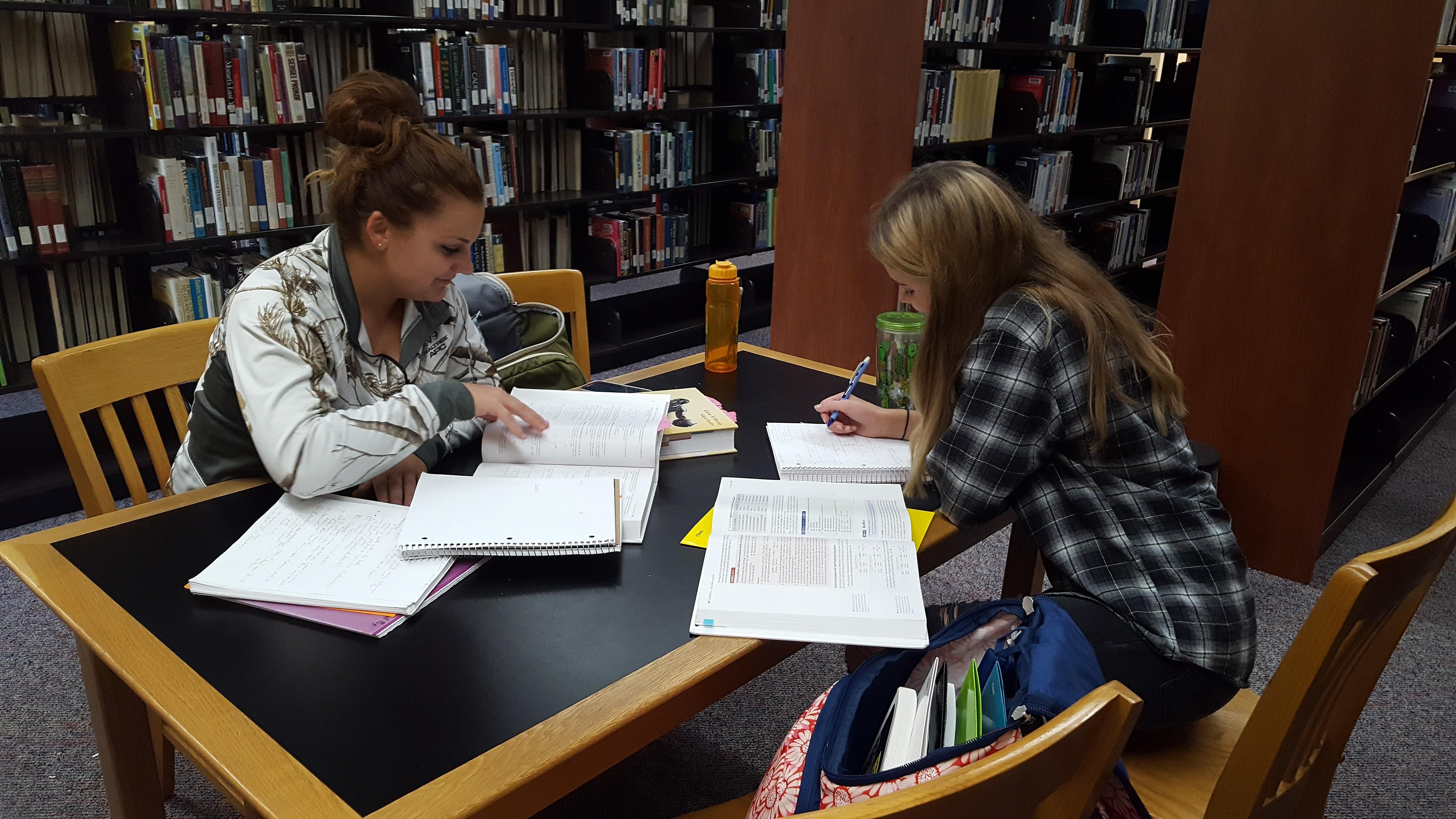 UW-Marshfield students