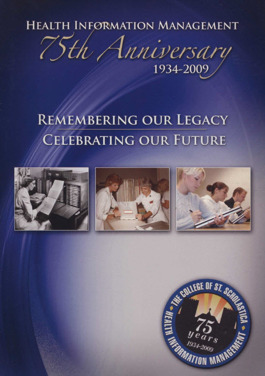 Health Information Management 75th Anniversary Booklet Cover