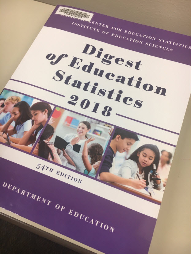 Digest of Educational Statistics Cover Page