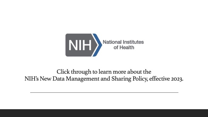 This banner has a white background with the National Institutes of Health logo and the text reads,