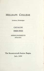 College Catalog Title Page 1969-1970
