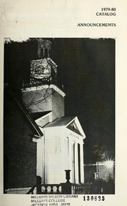 College Catalog Cover 1979-1980