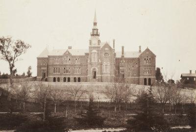 Photograph, Sandhurst central school building H2015.164/7