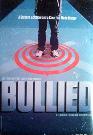 DVD cover with movie title and picture of student standing on red target