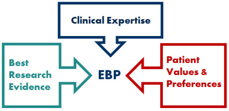 Evidence-based practice components