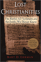 book cover: Lost Christianities