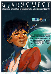 Poster of mathematician Gladys West