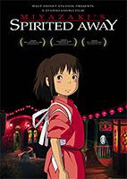 DVD cover, Spirited Away