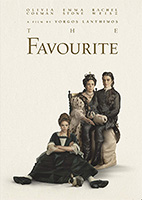 DVD cover: The Favourite
