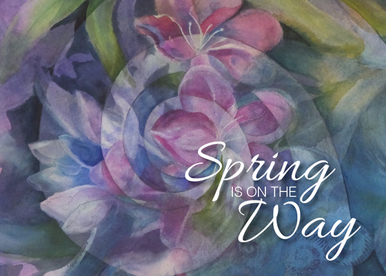 Judith Hand: Spring is on the Way