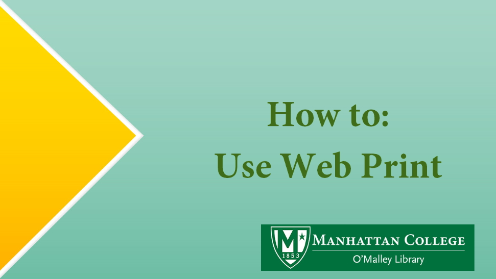 How to: Use Web Print