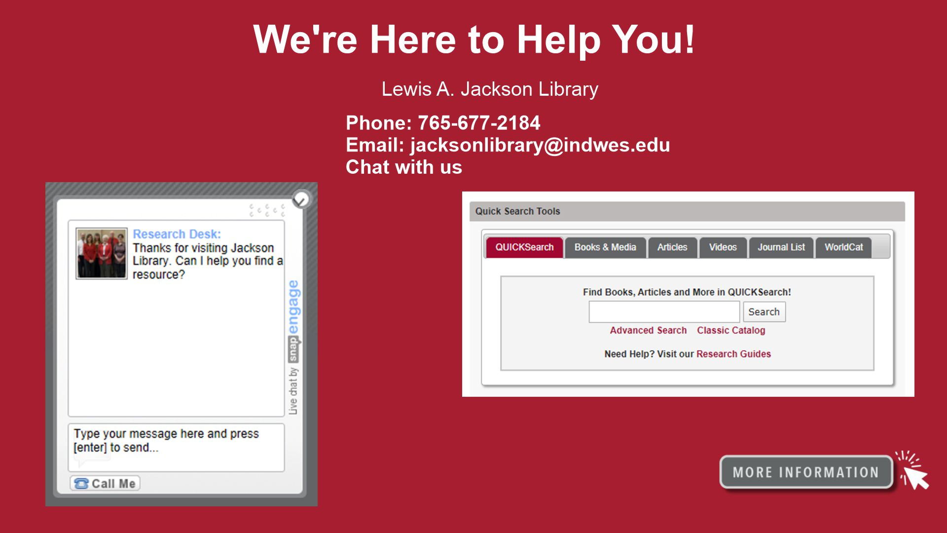 Continuity of Library Services