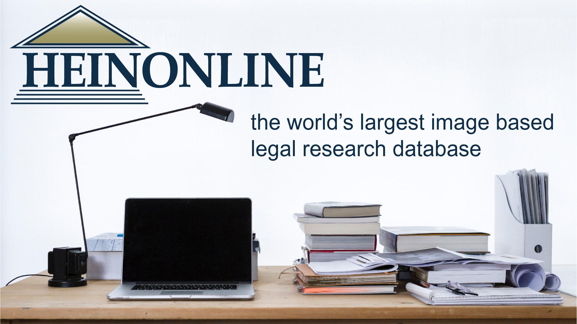 HeinOnline Database