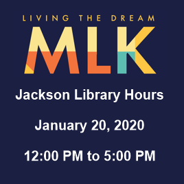 MLK library hours