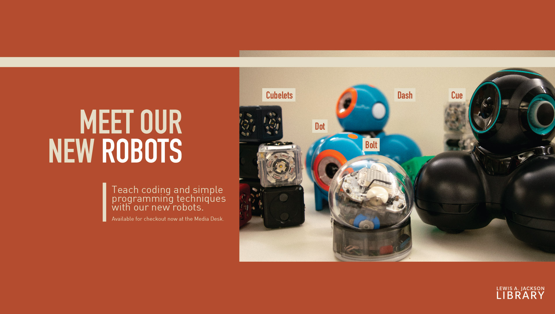 Teaching Tools - Meet our Robots