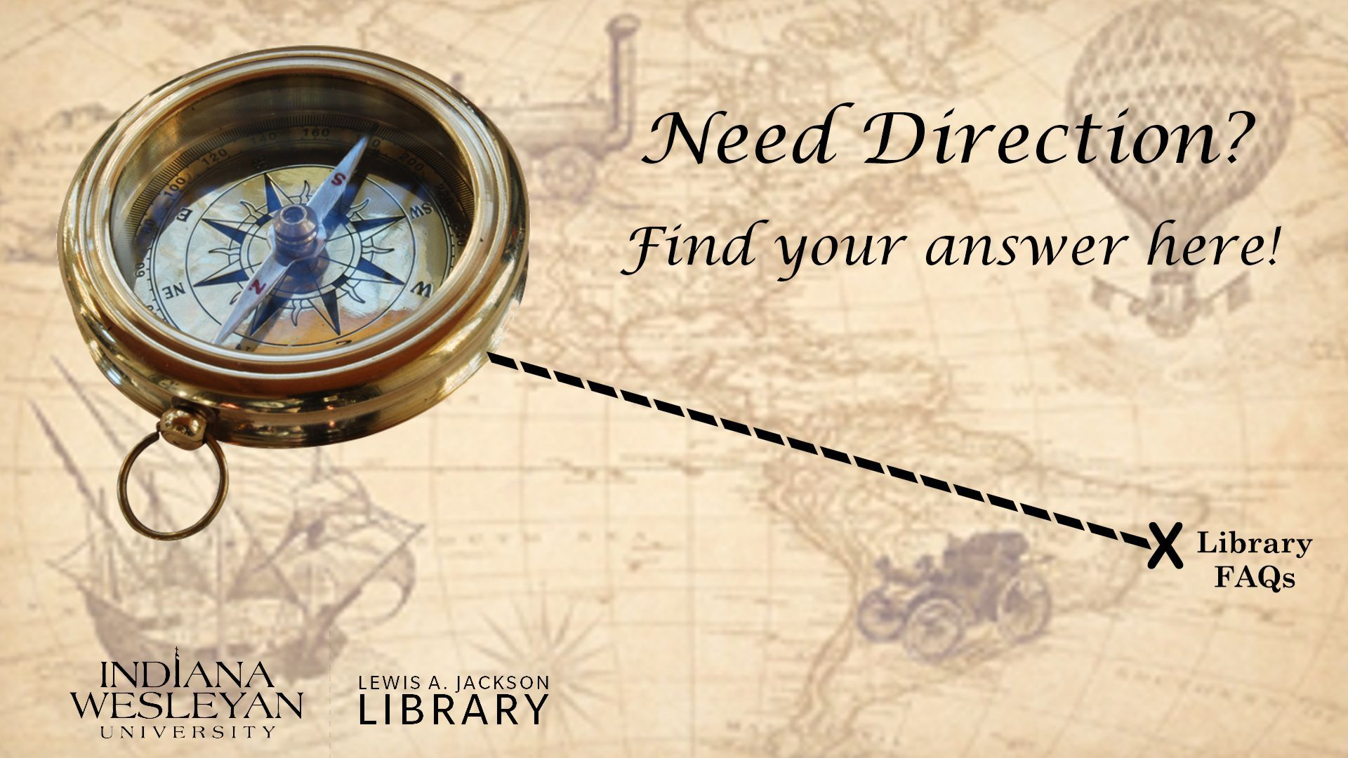 Need Direction? Library FAQs