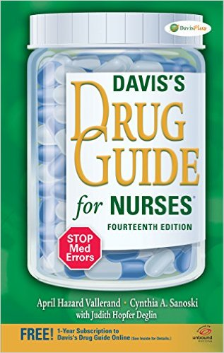 Davis's Drug Guide for Nurses Cover