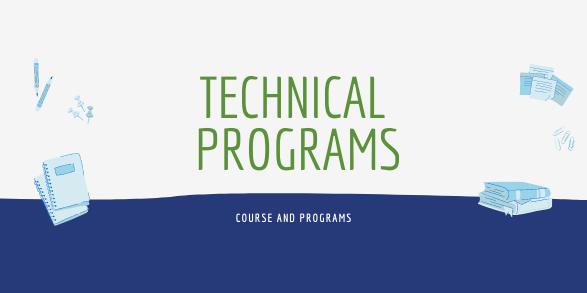 Technical Programs Decorative Banner