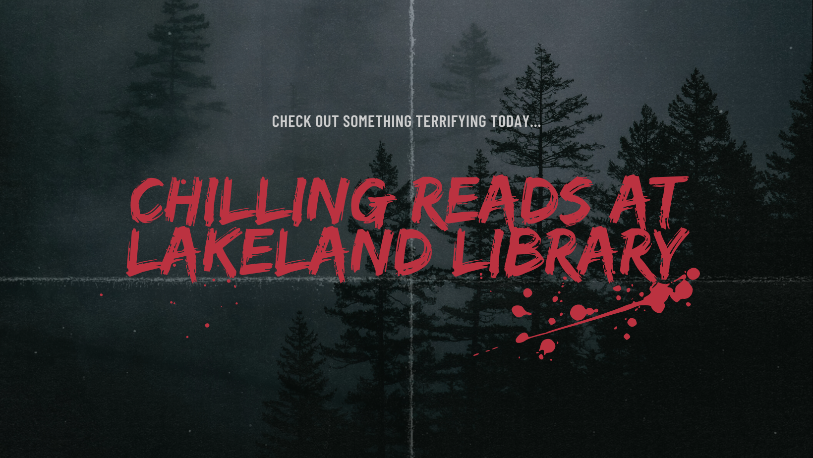 chilling reads at lakeland library