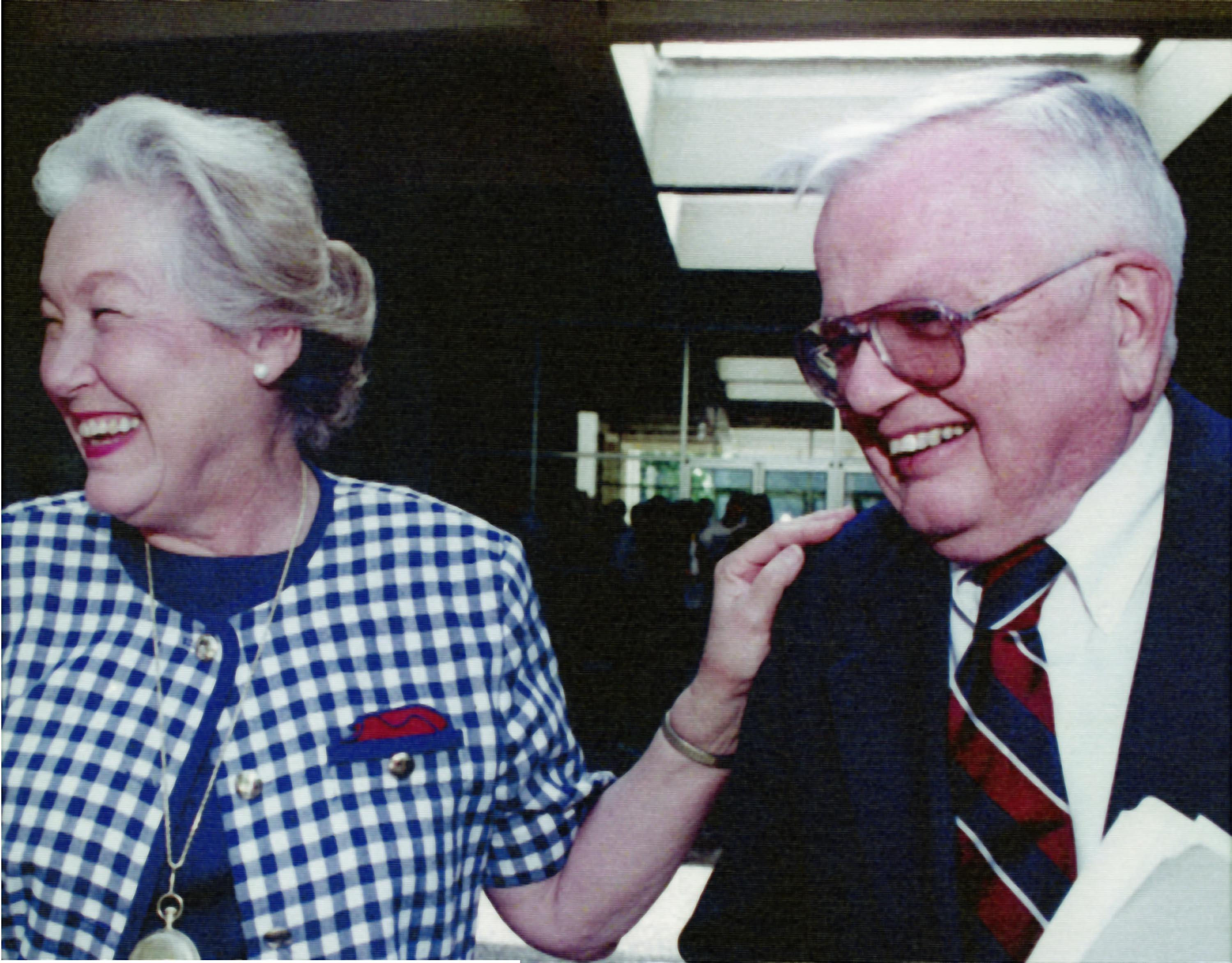 Donald and Beverly Gerth photograph