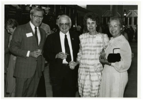 Donald and Beverly Gerth with Chancellor Ann Reynolds photograph