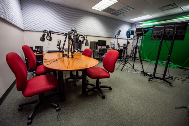 studio space audio side