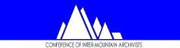 Conference of inter-mountain archivists logo