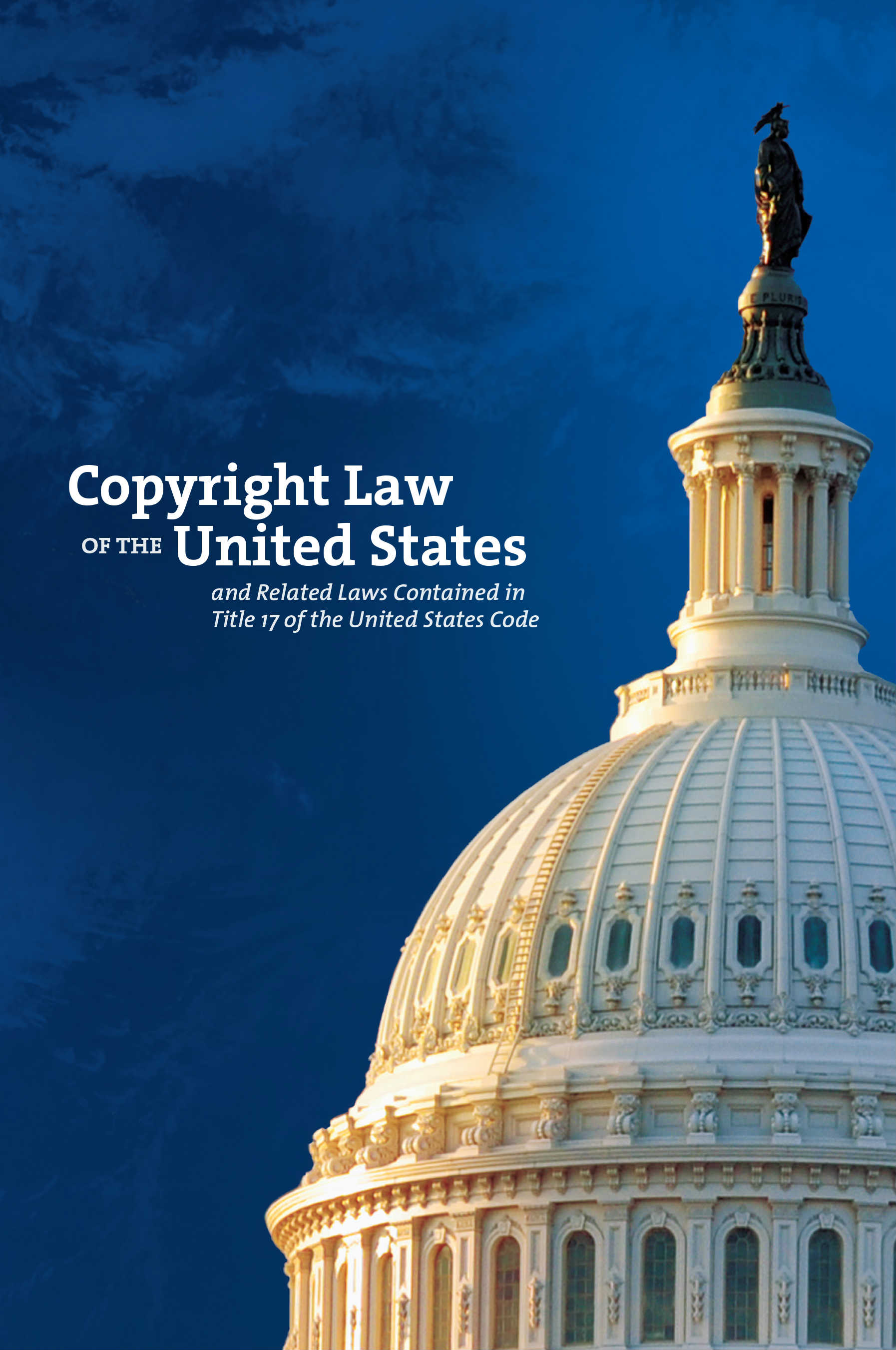 Copyright Law of the United States cover