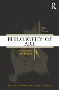 Philosophy of Art : A Contemporary Introduction